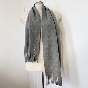 Plain grey scarf